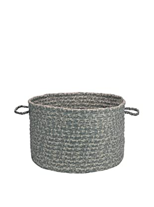Colonial Mills Solid Fabric Print Basket (Graystone)