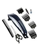 Maxel India Shop AK-10112/1016 Professional Electric Hair and Beard Trimmer (Black)