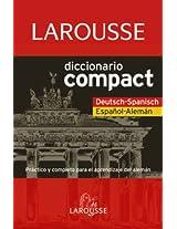 Larousse diccionario Compact Deutsch-Spanisch Espanol-Aleman  / Larousse Compact Dictionary Spanish-German