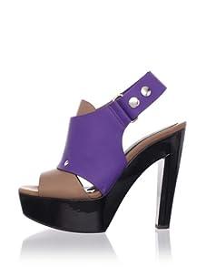 MARNI Women's Slingback Platform Sandal (Sienna)