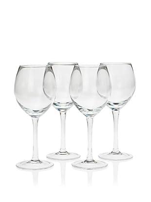 10 Strawberry Street Set of 4 Regina 11.5-Oz. Red Wine Glasses (Clear)