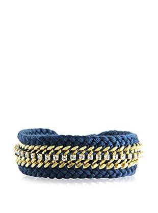 Ettika Gold & Blue The Outsider Bracelet