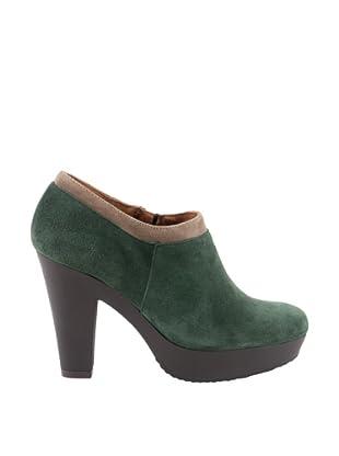 Liberitae Zapatos Plataforma (Verde Bosque / Topo)