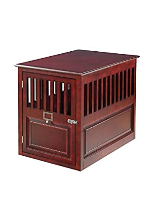 Elegant Home Fashions St. James Crate, Mahogany