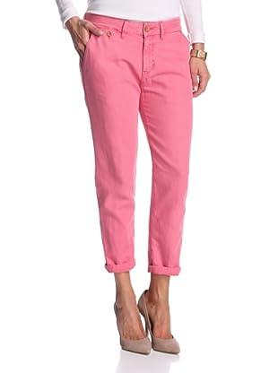 Levi's Women's Slim Chino (Claret Pink)
