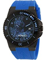 Ed Hardy Men's IM-SN Immersion Blue Watch