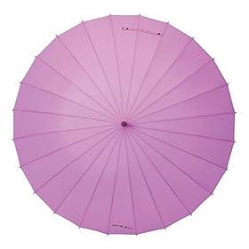 MABUベーシック24本骨傘 ベリー(ピンクパープル)