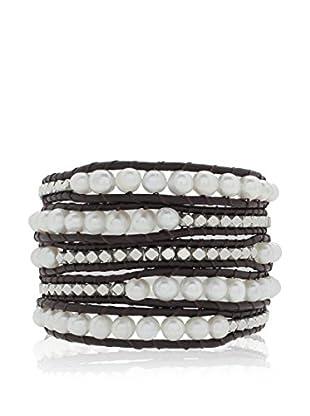 Lucie & Jade Armband  schwarz/weiß