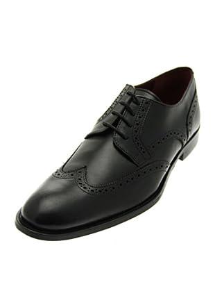 Pascal Morabito Zapato cordón Ron (Negro)
