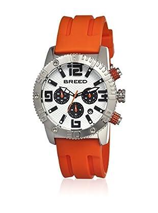 Breed Reloj con movimiento cuarzo japonés Brd1102 Naranja 45  mm