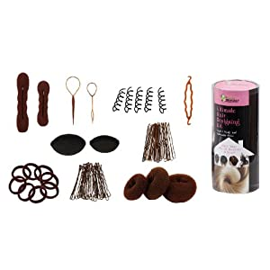 Bundle Monster 700580457606 9in 1 hair design accessories