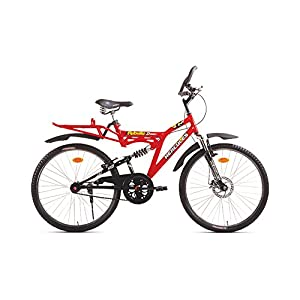 Hercules MTB Turbodrive Rebellio 619 Bicycle, 24-inch