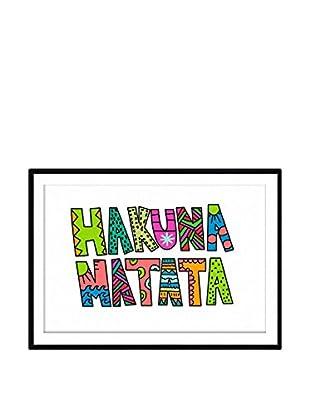 Really Nice Things Wandbild Hakuna Matata