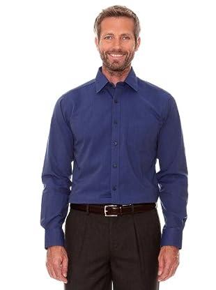 Cortefiel Camisa Lisa (azul marino)