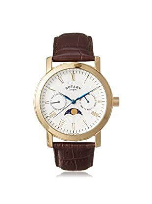 Rotary Men's GS03902-01 Brown Leather Watch