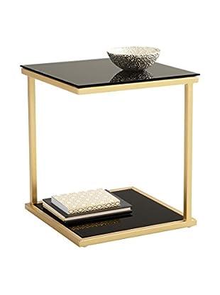 Sunpan Harvey End Table, Gold