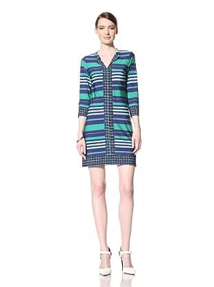 Donna Morgan Women's Bailey Dress (Iris Multi)
