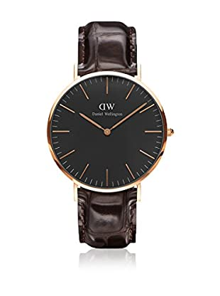 Daniel Wellington Reloj con movimiento cuarzo japonés Man Classic York 40 mm