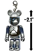 Jango Fett ~2.1 Mini-Figure Key Ring - Pepsi NEX x Star Wars x Be@rbricks Series