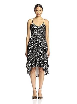 Badgley Mischka Women's Printed Dress with Full Skirt