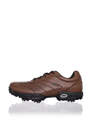 Geox Men's Pro Waterproof Golf Shoe (Brown)