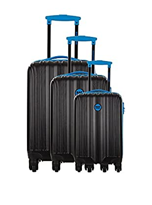 Bag Stone Set de 3 trolleys rígidos Night