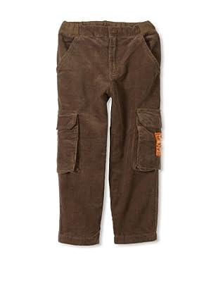 Monster Republic Boy's Cord Cargo Pant (Green)