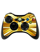 The Grafix Studio Gold Union Jack Xbox 360 Remote Controller/Gamepad Skin / Vinyl Cover / Vinyl Xbr14