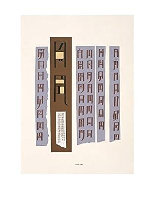 Danese  Elemento Decorativo Bruno Munari 1984  Blanco