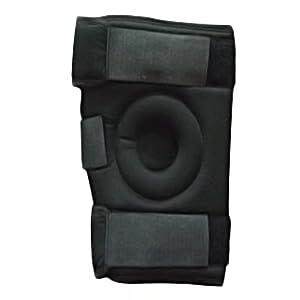 Relief Tri-Point Hinged Knee Brace- Black (XXL)