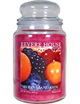 Candle-lite Revere House 23-Ounce Country Comfort Jar, Berry Mandarin