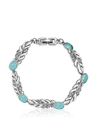 Saint Francis Crystals Armband silberfarben/türkis