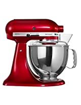 KitchenAid Artisan 5KSM150PSDCA 4.8-Litre 300-Watt Tilt-Head Stand Mixer (Candy Apple)