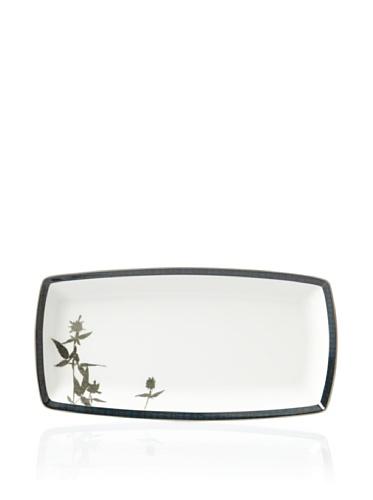 Noritake Everyday Elegance Verdena Rectangular Plate (Platinum)