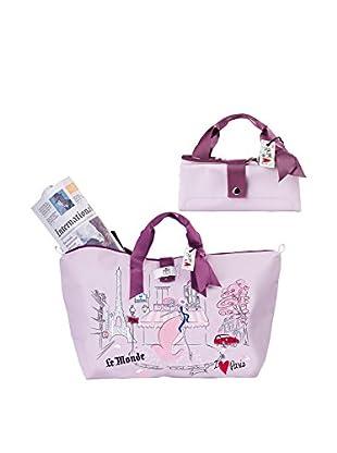 Rosso Regale Shopper Courier Bag France