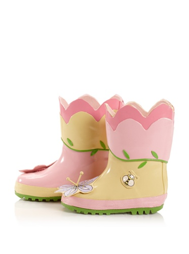 Kidorable Lotus Rain Boot (Toddler/Little Kid) (Pink)