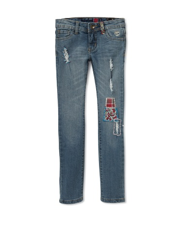 Timberland Girl's Hippy Jeans (Stratham Tint Wash)