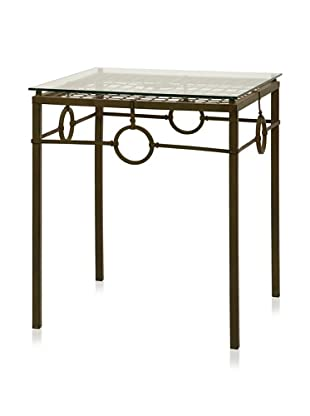 Carolyn Kinder Tabora Glass-Top Accent Table