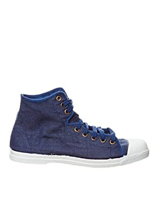 Natural World Botas Sport Lino (Azul)
