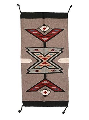 Uptown Down Handmade Wool Rug, Tan/Black, 3' 4