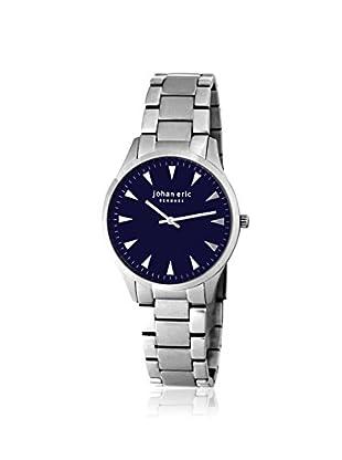 Johan Eric Men's JE9000-04-003B Helsingor Silver/Blue Stainless Steel Watch