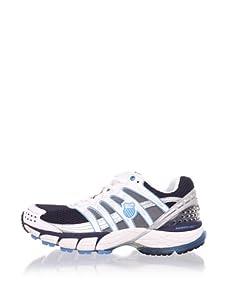 K-SWISS Men's Konejo II Running Shoe (Navy/Silver/White/Blue)