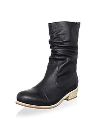 Fiel Women's Cara Welted Ruched Boot (Black)