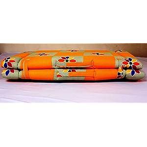Glitz Home Foldable Spa/Travel/Hostel Cotton Bed ( 76.2 x 182.88 cm)