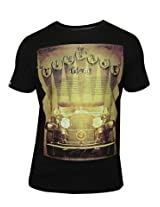 Spykar Black Casual T-Shirt