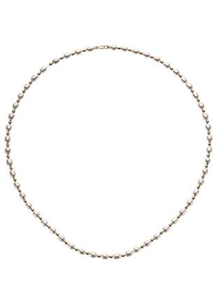 Le Perle di Emi Kaway Girocollo Oro Giallo 18k E Filo Di Perle