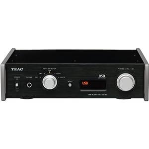 ティアック USBオーディオ・デュアルモノーラルD/Aコンバーター Reference 501 (ブラック) UD-501-B