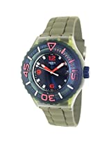 Swatch Green Rubber Analog Unisex Watch SUUG400