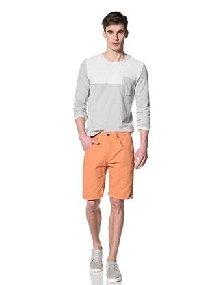 Marshall Artist Men's Cut-Down Cotton Twill Shorts (Burnt orange)