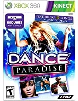 New Thq Dance Paradise-Kinect Music Dance Vg Xbox 360 Platform Hree Single Player Modes